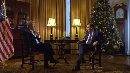 Russia: Kerry says US not trying to bring about regime change in Syria