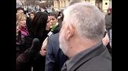 Мария Силвестър на протеста за следенето на Интернет - Шоуто на Иван и Андрей 15.01.2010