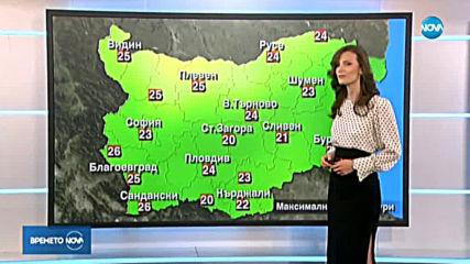 Прогноза за времето (21.09.2019 - централна емисия)