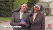 Най-добрите скрити камери с монахини - смях