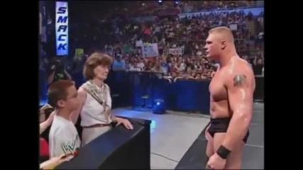 Wwe Smackdown 8-21-2003 Brock Lesnar vs Zach Gowen