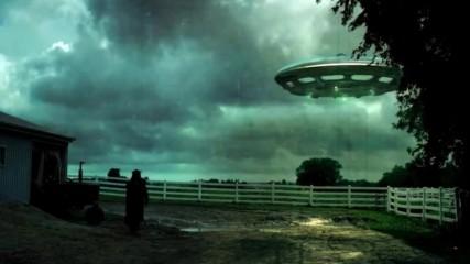 НЛО над ферма в Австралия побърква животните