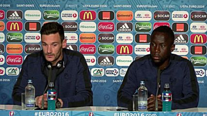 France: Lloris and Sagna give press conference ahead of Euro Cup final