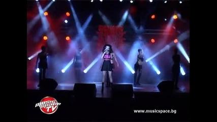 Галя, Теодора, Ивена и Ангел на концерта на Фен ТВ в Перник