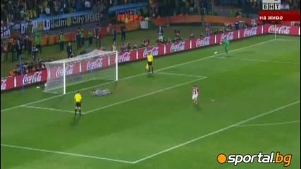 Wolrd Cup 2010 - Парагвай - Япония 5:3 (0:0 в редовното време)