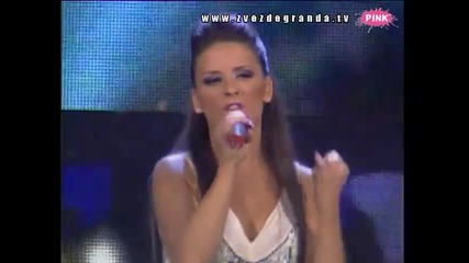 Ana Sević - Isuse (Zvezde Granda 2010_2011 - Emisija 10 - 04.12.2010)