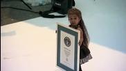 Най-ниската жена на света 62.8 сантиметра