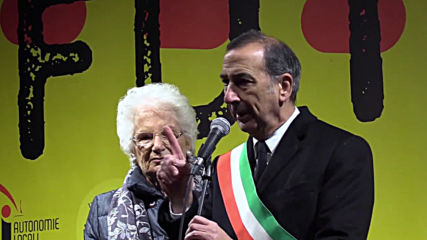 Italy: Holocaust survivor Liliana Segre celebrated at rally against hatred