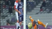 Димитър Бербатов вкарва красив гол за Монако 1 - 0 срещу Тулуза 5.12.2014