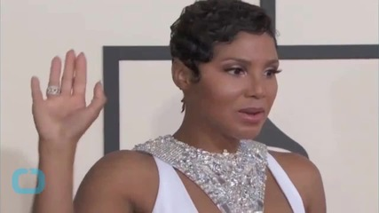 Toni Braxton Bares All While Going Braless in a Sheer Dress