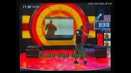 Ицо Хазарта пее песента на Лили Иванова Ветрове Vip borother 3