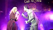 """Поли Генова и Амир Хадад пеят """"Дай ми любовта"""""""