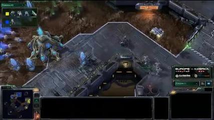 Tyler (nony) vs Demuslim - Game 4 - Pvt - America vs Europe