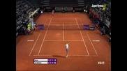 Victoria Azarenka vs Irina-camelia Begu Rome 2015 part 3
