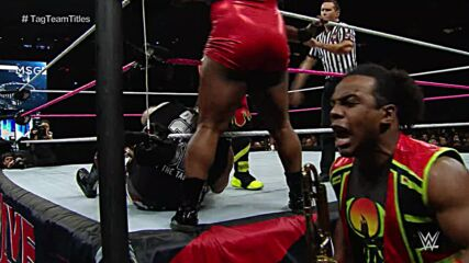 The New Day vs. Dudley Boyz - WWE Tag Team Titles Match: WWE Live from MSG, Oct. 3, 2015 (Full Match)