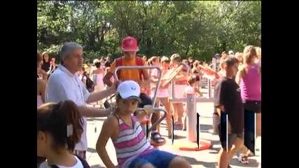 Най-големият на Балканите фитнес на открито е в Стара Загора