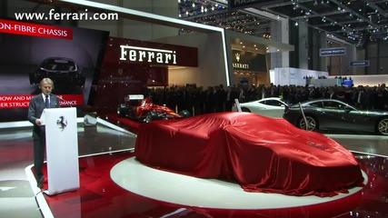 Официално Laferrari !!! хипер кола на Ферари представена в Женева !