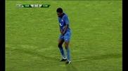 Смях ! Юлу Матондо играе помпа кючек cлед гола му срещу Сливен :d