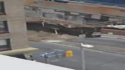 Canada: Sinkhole opens across main road in Ottawa