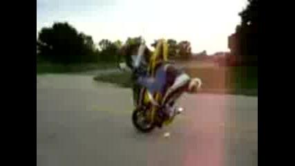 Crashing on Gsxr 750