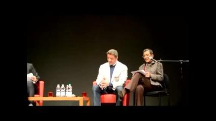 Супер звездата Силвестър Сталоун на филмовия фестивал в Рим