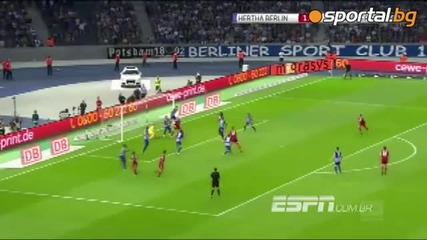 Херта ( Берлин) 1:0 Хамбургер Шф