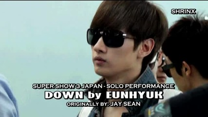 Eunhyuk Solo (down by Jay Sean)