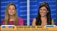 Vanessa Hudgens vs Miranda Cosgrove Results Fashion Face Off 2009 бг субс