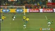 20.06.2010 Бразилия - Кот Д Ивоар 3 - 1