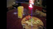 На маса с Божидарчо