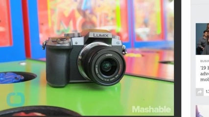 Hands on With Panasonic's New 4K Video Recording Monster