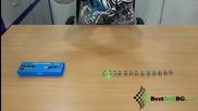 Силен зелен лазер 500mw тип показалка с 12 приставки за различни фигури Class Iii мощен лазери