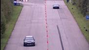 Bmw M6 срещу Mitsubishi Lancer Evolution