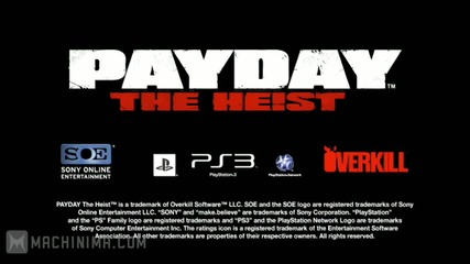 Payday The Heist Green Bridge Trailer [hd]