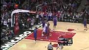 Чикаго Булс 85:82 Детройт Пистънс (23-01-2013 г.)