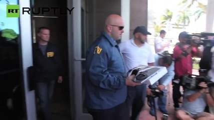 FBI Agents Collect Evidence from CONCACAF HQ Following FIFA arrests