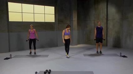 Hiit workout (high Intensity Intervals Training), интензивна тренировка вкъщи за цяло тяло