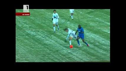 Левски победи Спортинг Лисабон с 1:0 в Лига Европа