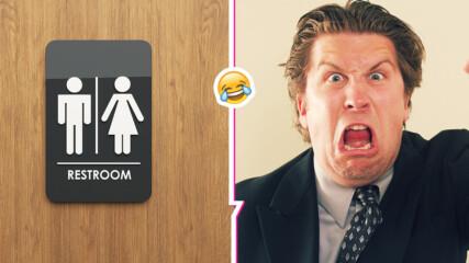 Да прекараш 1 ден от всяка работна седмица в тоалетната! Шеф се оплака от такъв служител