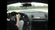 Toyota Supra 760hp in car