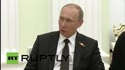 Путин и Могабе се срещнаха след празненствата по случай Деня на Победата