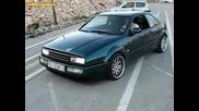 Vw Corrado Vr6 - бърнаут