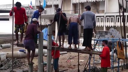 Модерно строителство в Тайланд
