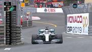 Хамилтън най-бърз в първата тренировка в Монако