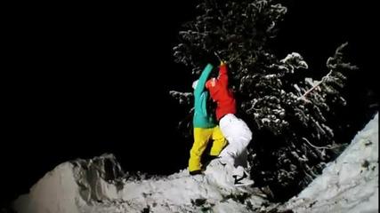 Удивителни сноуборд изпълнения