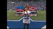Kelly Clarkson - National Anthem - Nfl