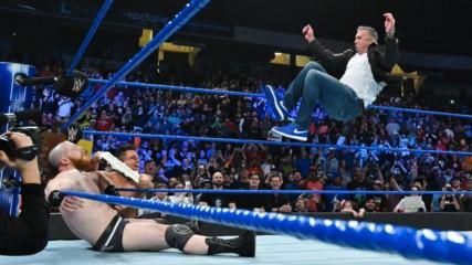 Shane McMahon celebrates his birthday with The Miz: Wal3ooha, 17 January, 2019