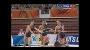2015 Универсиада - Ритмично гимнастика Група Обръчи и Бухалки