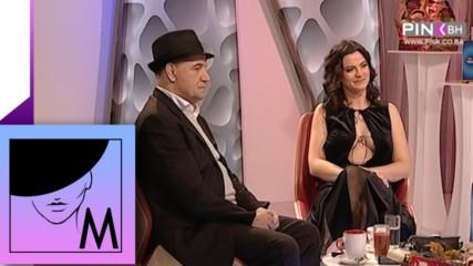 """Milica Pavlovic i Nazif Gljiva - Gostovanje """"Dobar Komšija"""" - (TV Pink BH 18.02.2017.)"""