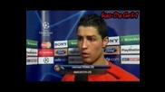 Cristiano Ronaldo Interview 1 - 23.04.08